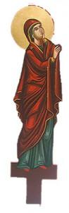 Λυπητερά Αγιογραφία Παναγία (60cm) (295-03) (P)