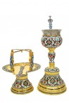 Chalices Sets Russian Enamel Α' (103-01)