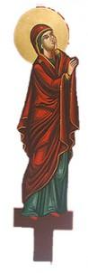 Λυπητερά Αγιογραφία Παναγία (80cm) (295-02) (P)