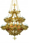 Chandelier 50F Patina (232-11)